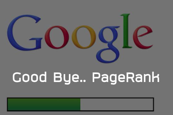 good bye google PageRank seo by ameseo